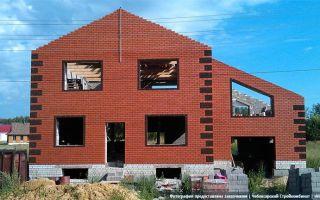 Строительство домов из блоков и кирпича