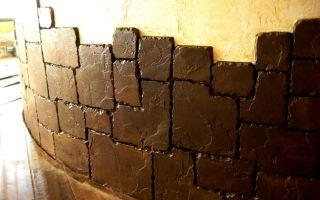 Как сделать имитацию каменной кладки