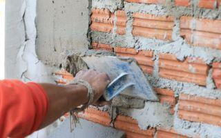 Как быстро и правильно штукатурить кирпичные стены?