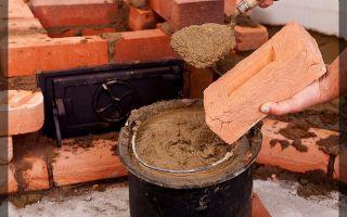 Как приготовить глиняную смесь для кладки печей