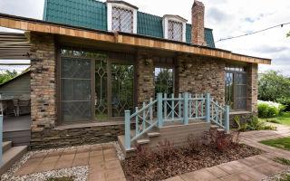 Постройка веранды для кирпичного дома