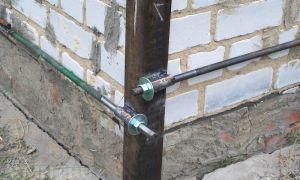 Как правильно стянуть стены кирпичного дома