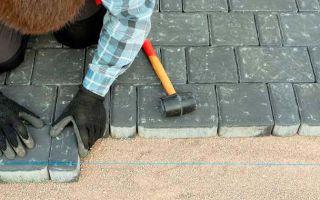 Можно ли класть тротуарную плитку на старый асфальт?