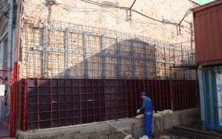 Усиление и укрепление кирпичных стен