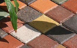 Классификация красителей для тротуарной плитки
