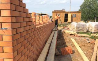Краткое пособие по строительству кирпичного дома
