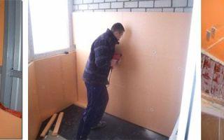 Особенности крепления утеплителя к кирпичной стене
