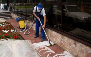 Чем чистить и мыть тротуарную плитку?