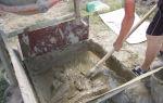Приготовление раствора для кладки песчаника