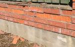 Как защитить кирпич от разрушения: способы защиты