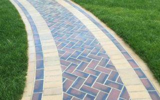 Выбор дизайна тротуарной плитки