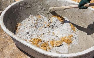 Чем можно растворить цемент?