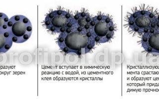Гидратация цемента