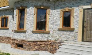 Виды внешней обшивки кирпичного дома