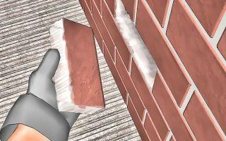 Как произвести замену кирпича в кладке?