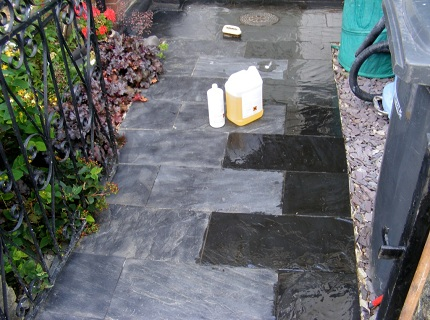 Чем отмыть цементный раствор с брусчатки купить бур по бетону в минске