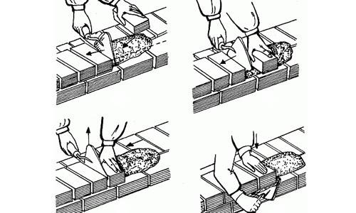 Расход цемента на 1 куб кирпичной кладки