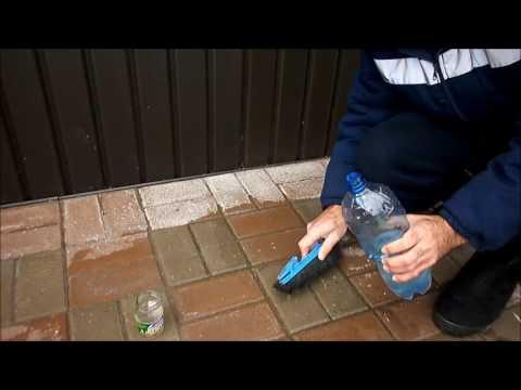 Как снять бетон с плитки