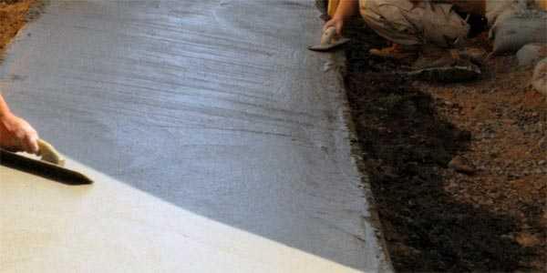Как железнить бетонный пол цементом: рекомендации