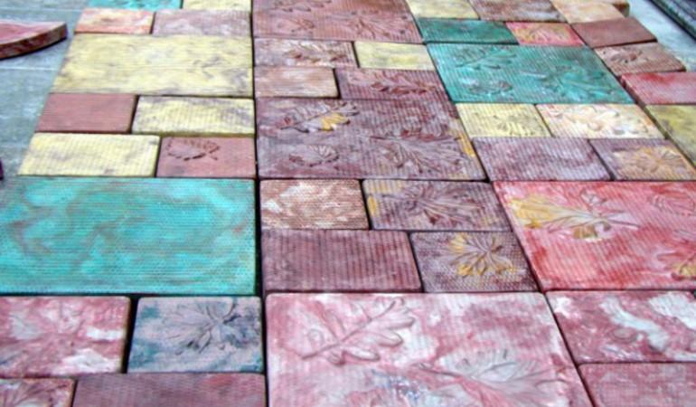 Пропорции раствора для тротуарной плитки