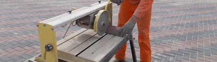 Как правильно и чем резать тротуарную плитку
