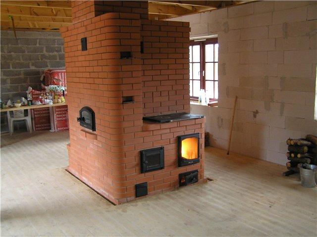 Котел в кирпичную печь для загородного дома своими руками