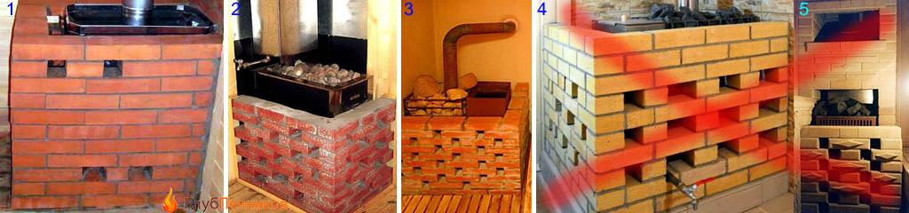 Баня из кирпича своими руками — от фундамента до крыши || Как правильно класть кирпич в бане