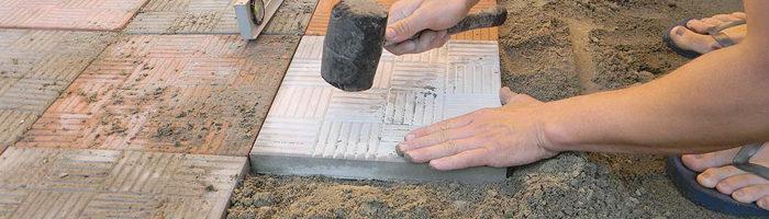 Цементно песчаная смесь для дорожек