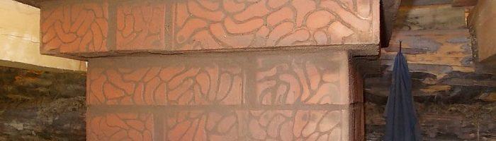 Распушка печной трубы через потолок