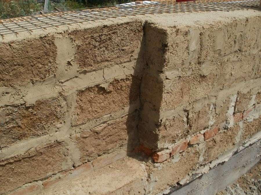 Штукатурка саманных стен - Работаем с Кирпичом